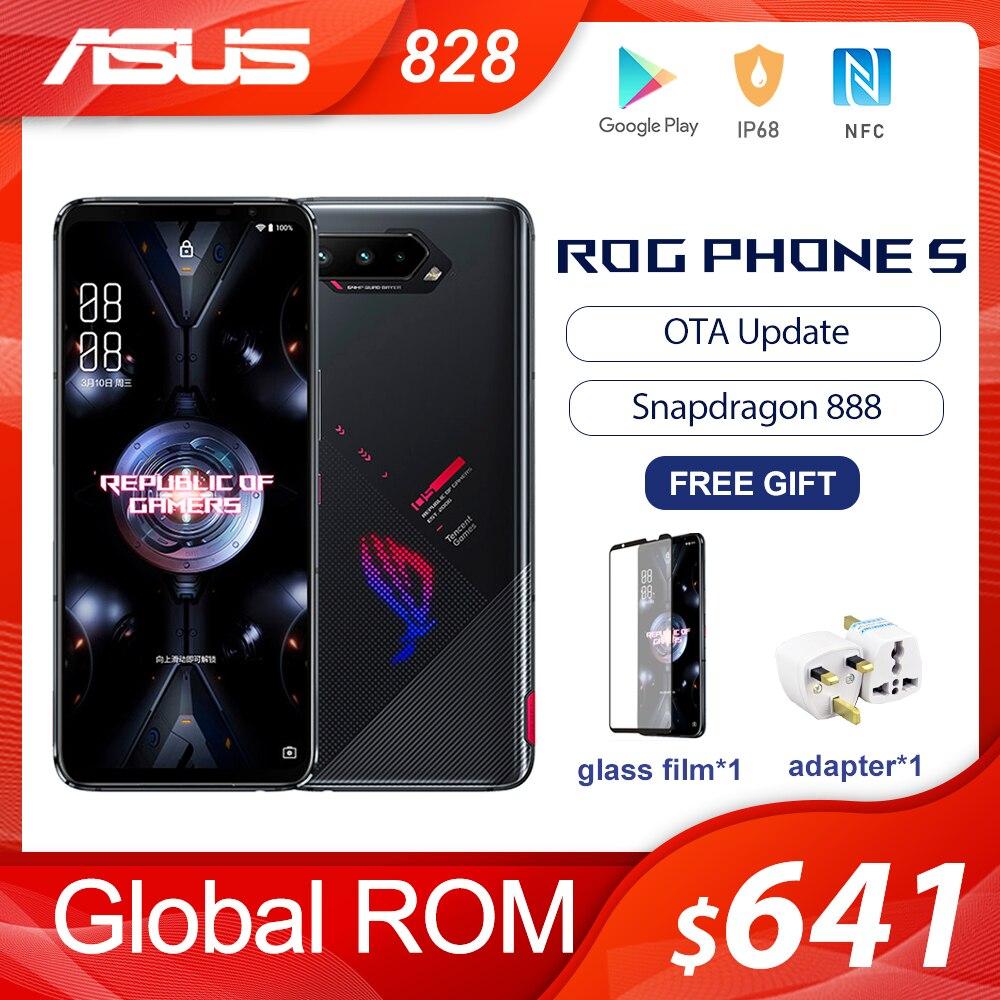 NEW Asus ROG Phone 5 Global ROM Snapdragon888 8/12/16RAM 128/256GB 6000mAh 6.78