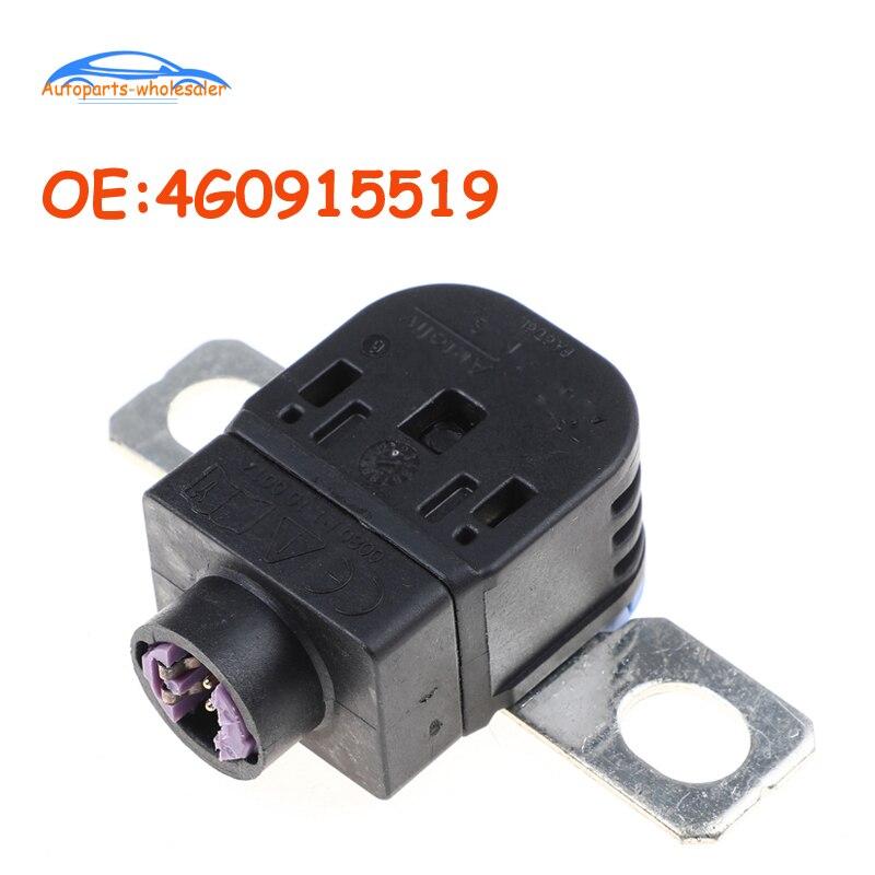 Coche 4G0915519 para Volkswagen Audi A6 A8 Q3 Q5 Q7 S6 caja de fusibles de desconexión de batería protección de sobrecarga pirofuse pyroswitch PSS-2
