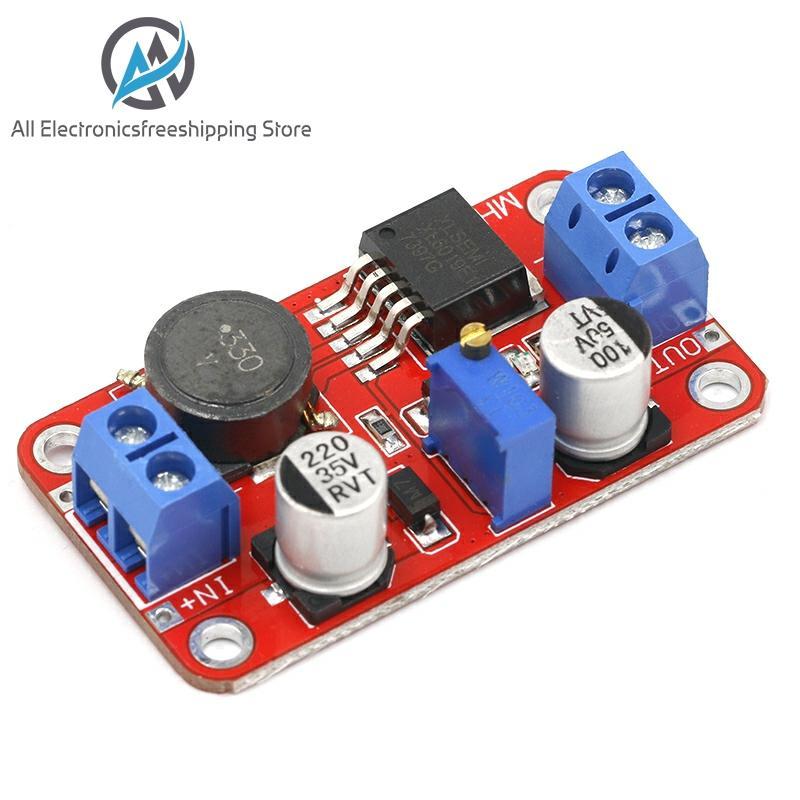 Módulo de fuente de alimentación DC-DC, módulo de aumento, convertidor de voltaje, regulador de voltaje XL6019, salida ajustable