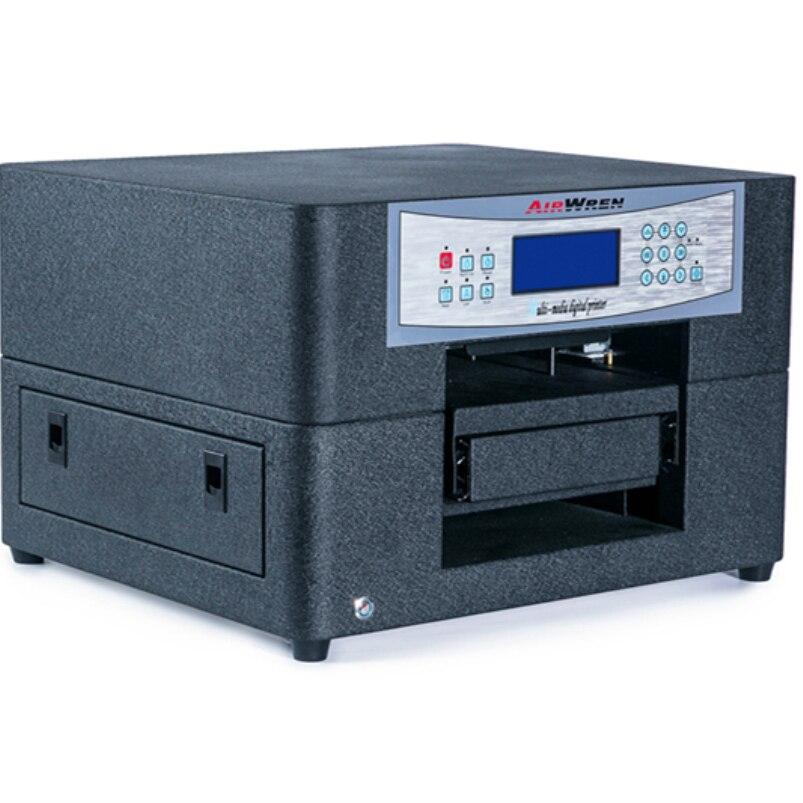 Digital Texjet Fabric T-shirt Printing Machine High Resolution 1440DPI A4 Size Direct to Garment Flatbed Printer