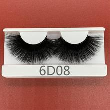25mm 3D Mink Lashes Handmade Makeup Dramatic Long Mink Lashes Extention Tools Thick Stirp Resuable 2