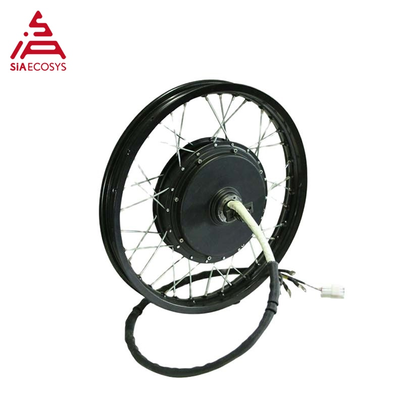 QS Motor 205 50H V3 Motor 3000W 17/18/19Inch 80-100km/h Electric High Power Bike Spoke Hub Motor With Rim enlarge