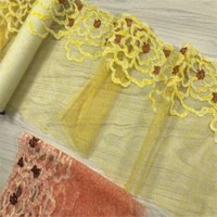 2mlotembroidery lace trim printing mesh lace lingerie clothing making accessories fabrics diy bra dress sewing crafts