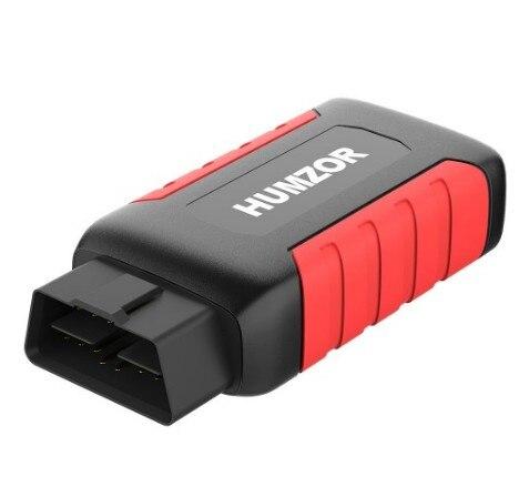 Humzor NexzDAS ND606 Lite herramienta de diagnóstico automático OBD2 escáner para coches de 12V/24V y camiones pesados