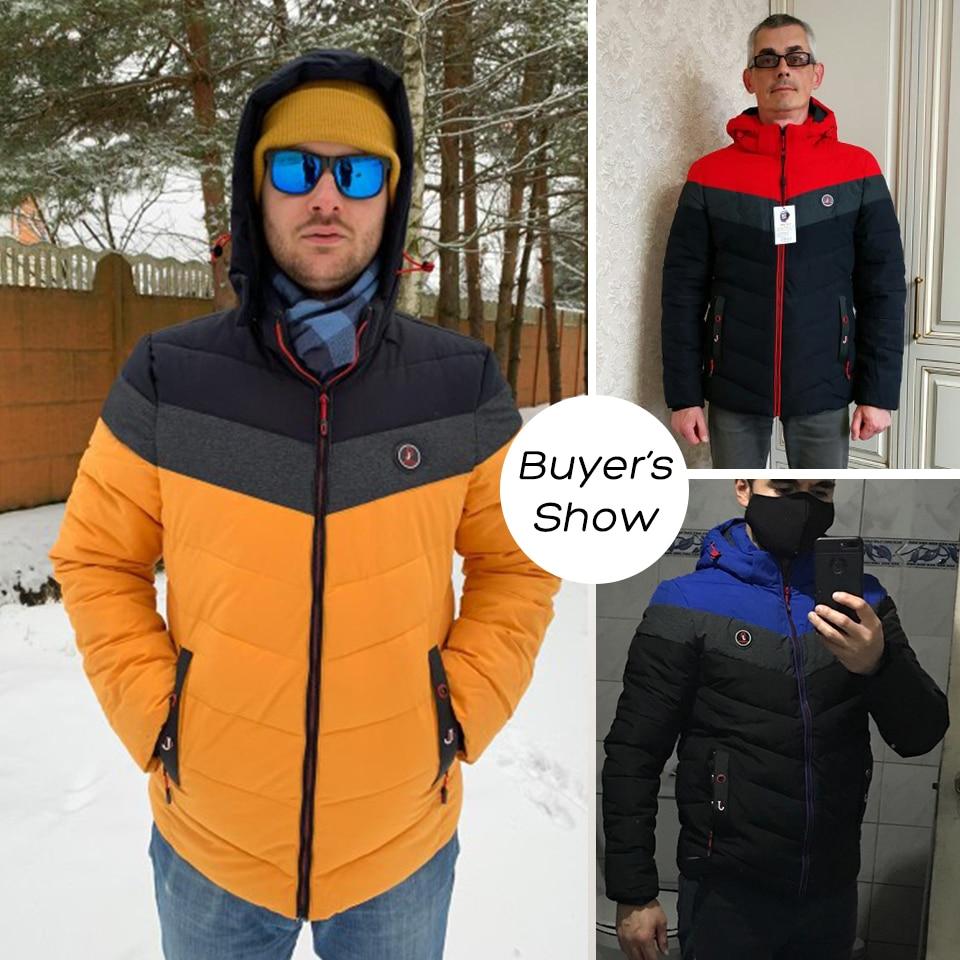 Vyrai žiemą visiškai naujas laisvalaikio šiltas storas - Vyriški drabužiai - Nuotrauka 4