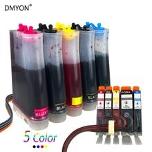 DMYON Pg 450 Cl 451 CISS Compatible for Canon PIXMA MG5440 MG5540 MG6340 MG6440 MG7140 Mg7540 Ix6540 IX6840 Ip7240 Ip8740 MX924