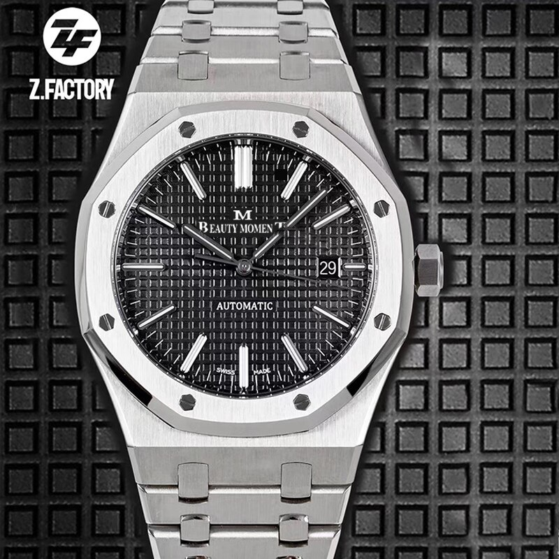 Mens Automatic Watch Royal Oak 41mm 15400 JF 9015 Movement Stainless Steel Bracelet ZF 3120 Movement Luxury Fashion Watch