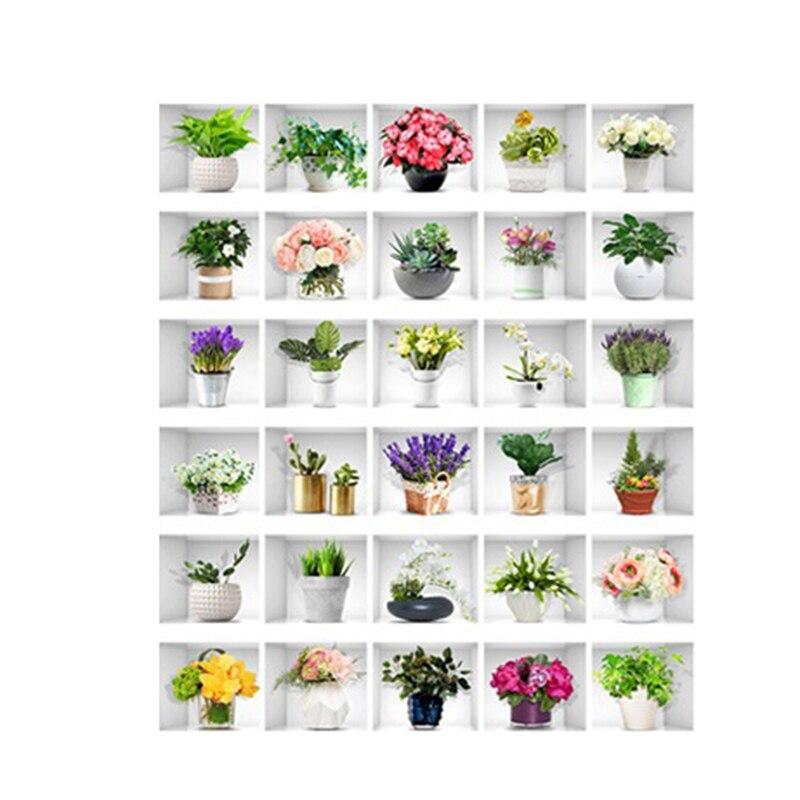 Наклейки для лестницы, декоративные наклейки для дома, самоклеящиеся восстановленные фотообои для лестницы, 39x7 дюймов, коллекция цветов, 6 ш...