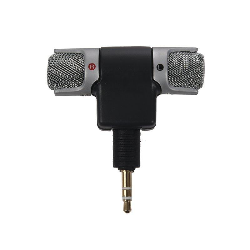 Mini micrófono estéreo Digital portátil para grabadora, ordenador