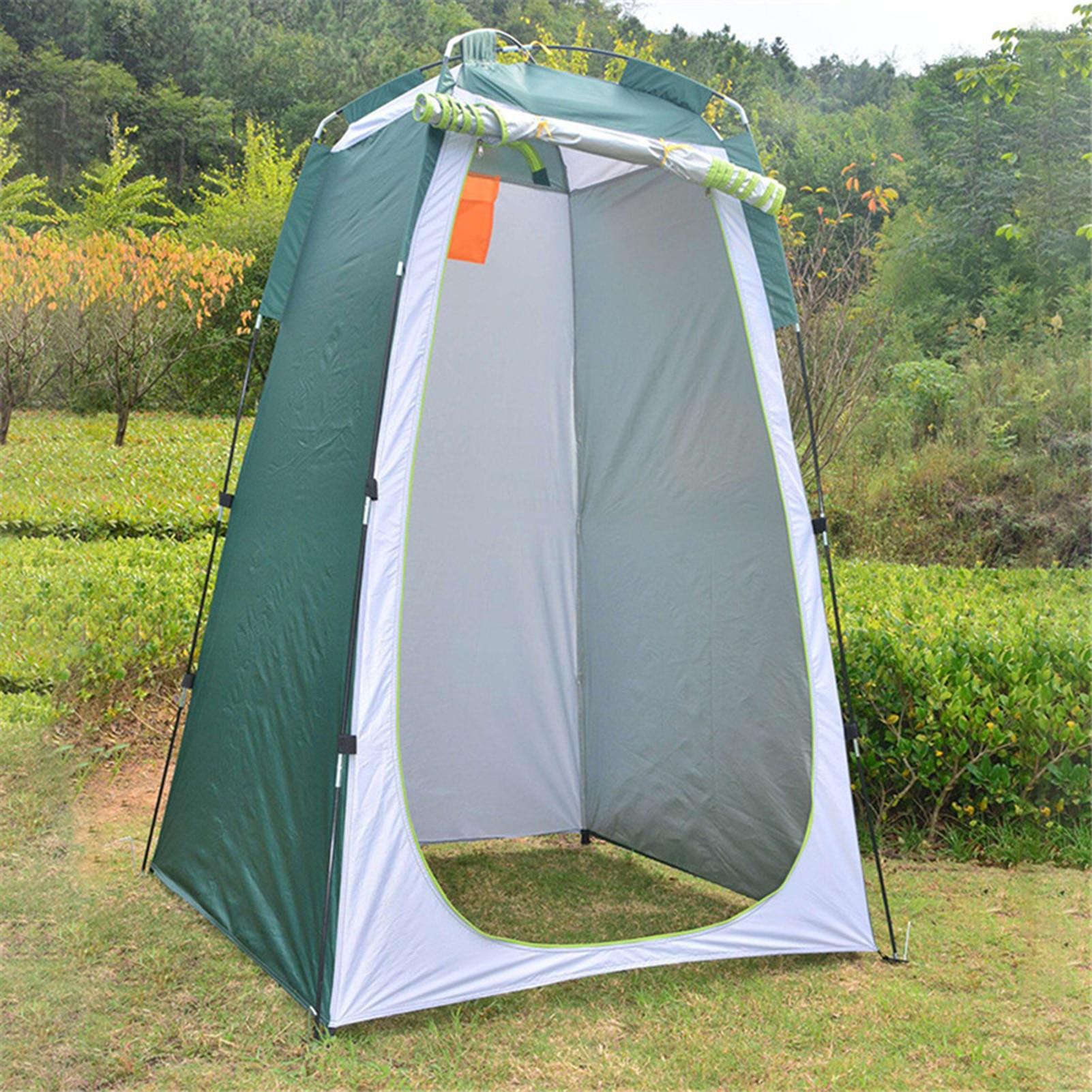 Палатка для душа и туалета, портативная Автоматическая УФ-палатка для отдыха на открытом воздухе, походов, фотосъемки