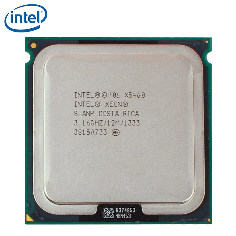 Intel Xeon X5460 procesador Quad-Core LGA 771 de 3,1 GHz 12MB 1333MHz cpu prueba 100% de trabajo