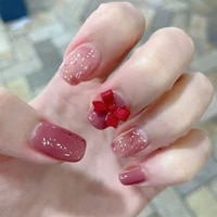 fake nails butterfly full cover fake nails diy glue press on nails nail supplies for professionals