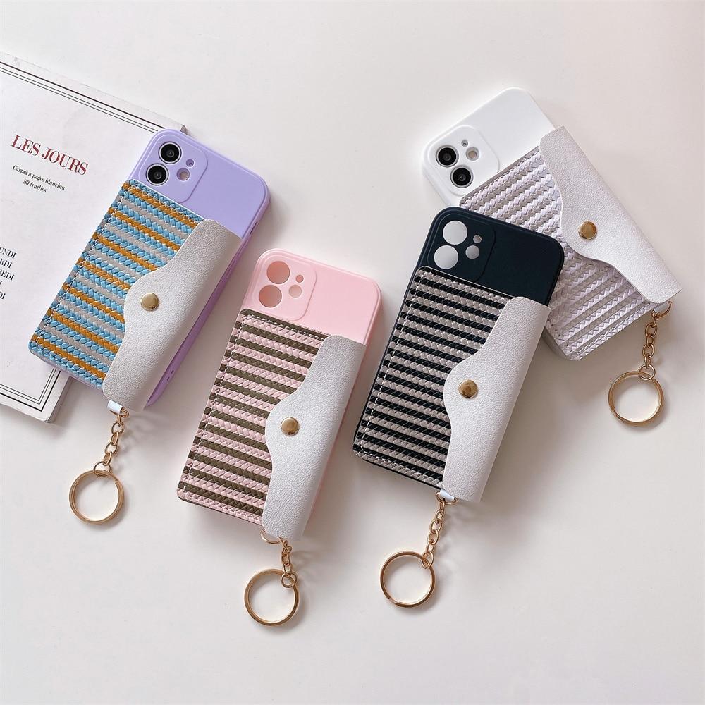 Funda Retro de PU para iPhone protector de cartera para iPhone 13...