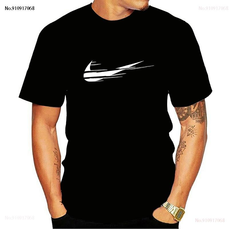 Nova moderna-Camiseta de manga corta para mujer, camisa masculina de alta calidad,...