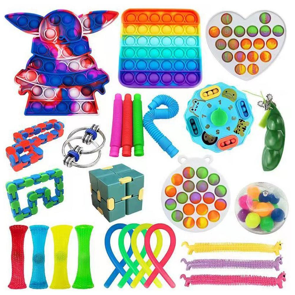 Fidget Toys Anti Stress Set Stretchy Strings Push Gift Pack Adults Children Squishy Sensory Antistress Relief Figet Toys enlarge