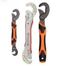 Llave inglesa ajustable multifunción, herramienta de mano Universal para reparación del hogar, llave de tubo multiusos