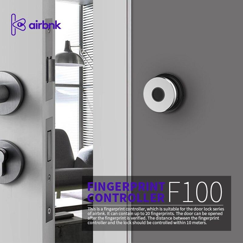 Airbnk F100 Fingprint الاعتراف جهاز باب الوصول نظام التحكم ل M500 M300 الذكية قفل بصمة جهاز