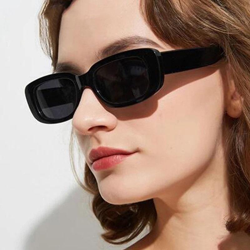 MOLNIYA Small Rectangle Sunglasses Women Vintage Brand Designer Square Sun Glasses Shades Female UV4