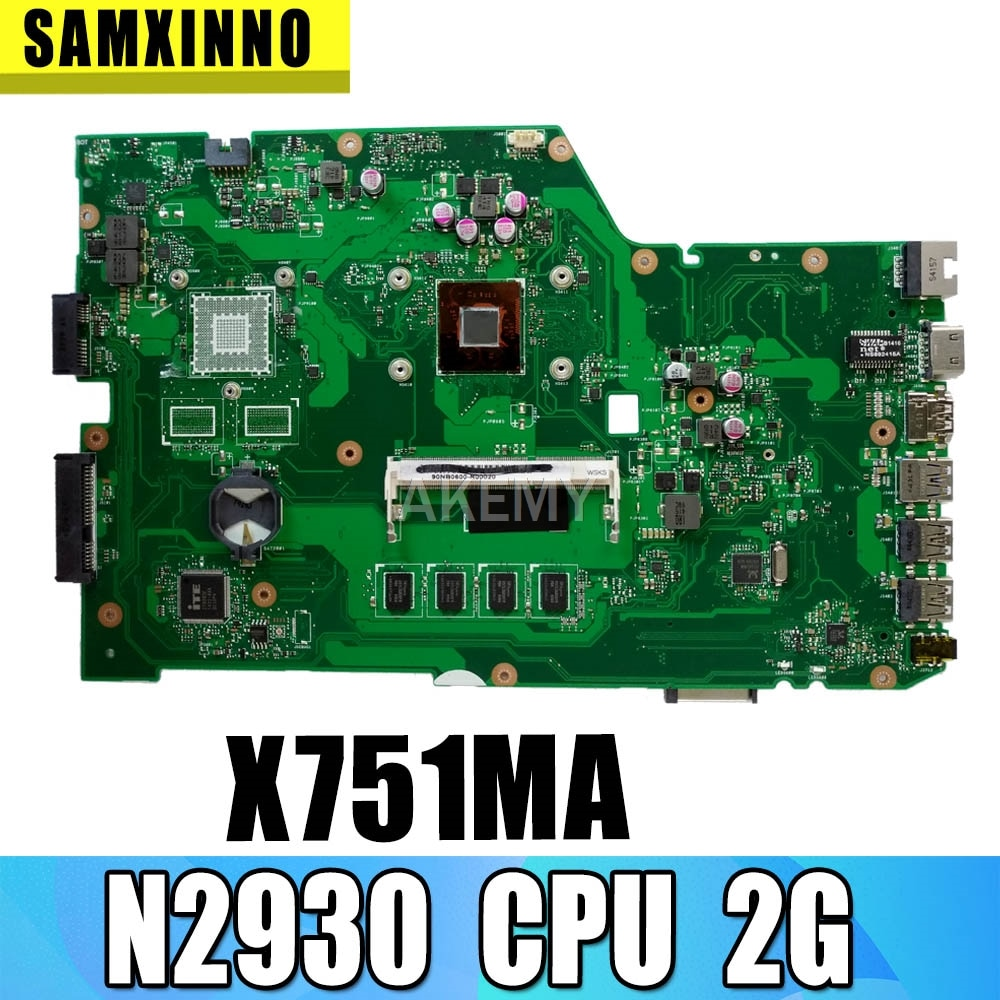 HM70 X75A Motherboard Para For Asus X75V X75VC X75VB X75VD X75 R704V Laptop motherboard Mainboard X75A X75A Motherboard teste 100% ok