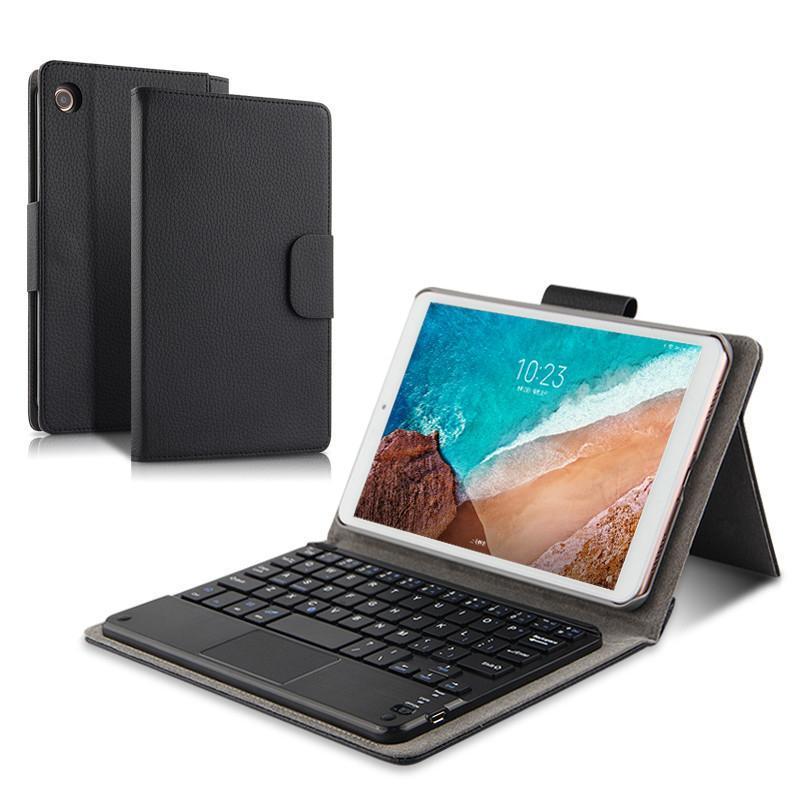 Съемная Беспроводная Bluetooth клавиатура подставка кожаный чехол для Xiaomi MiPad 4 Plus Mi Pad4 Plus 10,1 + подарок