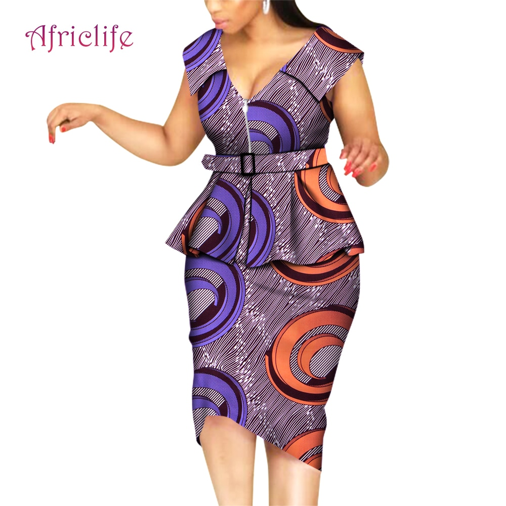 African Suits Traditional Women Clothing WY5692