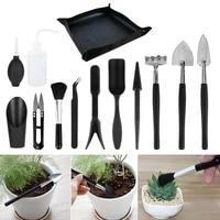 1213pcs garden planter kit succulent plants tools mini garden hand tools set indoor bonsai miniature transplant seedling tool