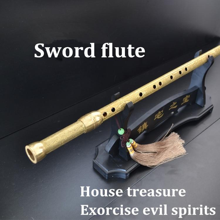 Chinese Sword flute  weapon  Martial arts Katana Kung fu flauta Tai chi exercise sword professional dizi /Xiao Katana enlarge