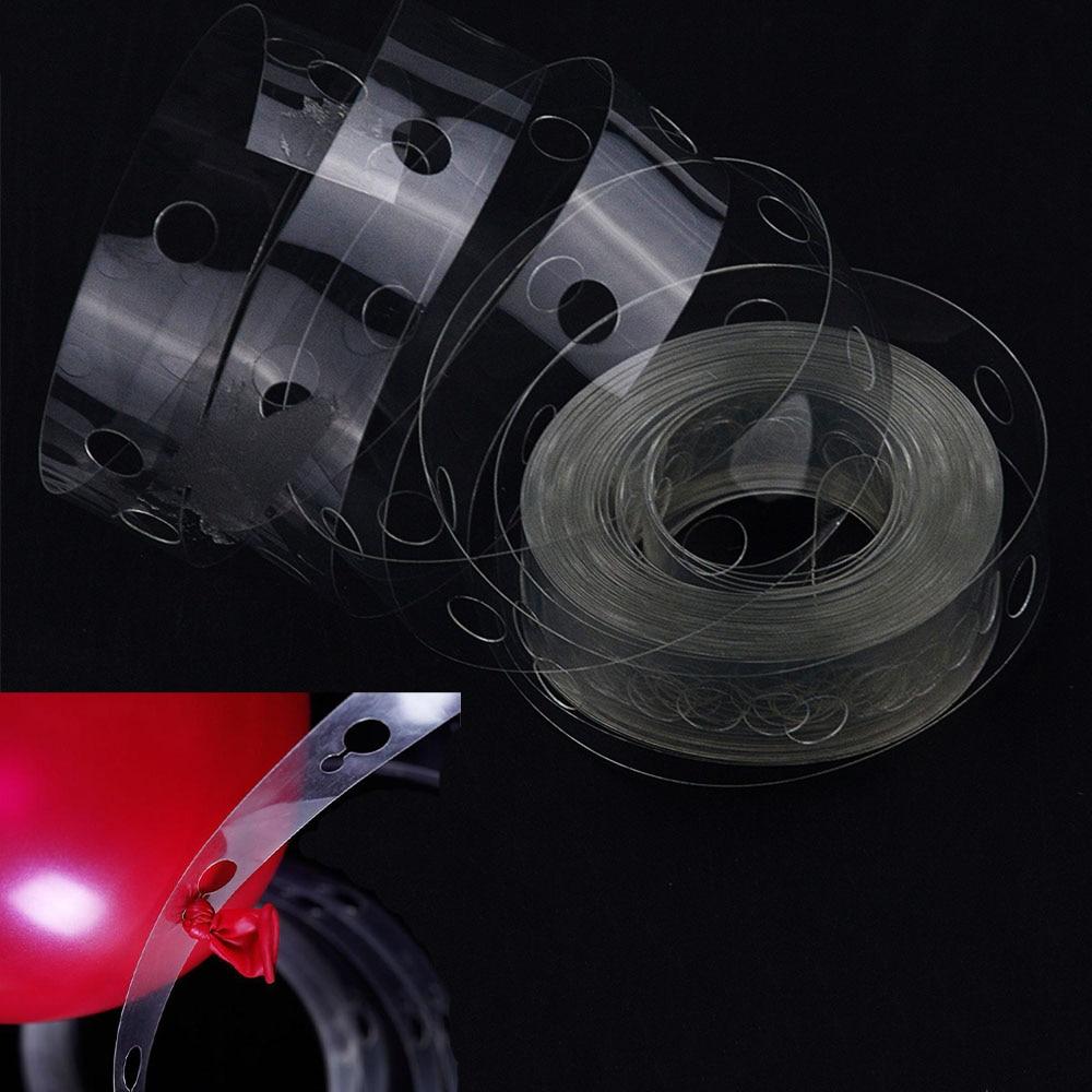 5M globos accesorios globo cadena PVC boda cumpleaños fiesta telón de fondo globo de decoración cadena arco Clips decoración suministros