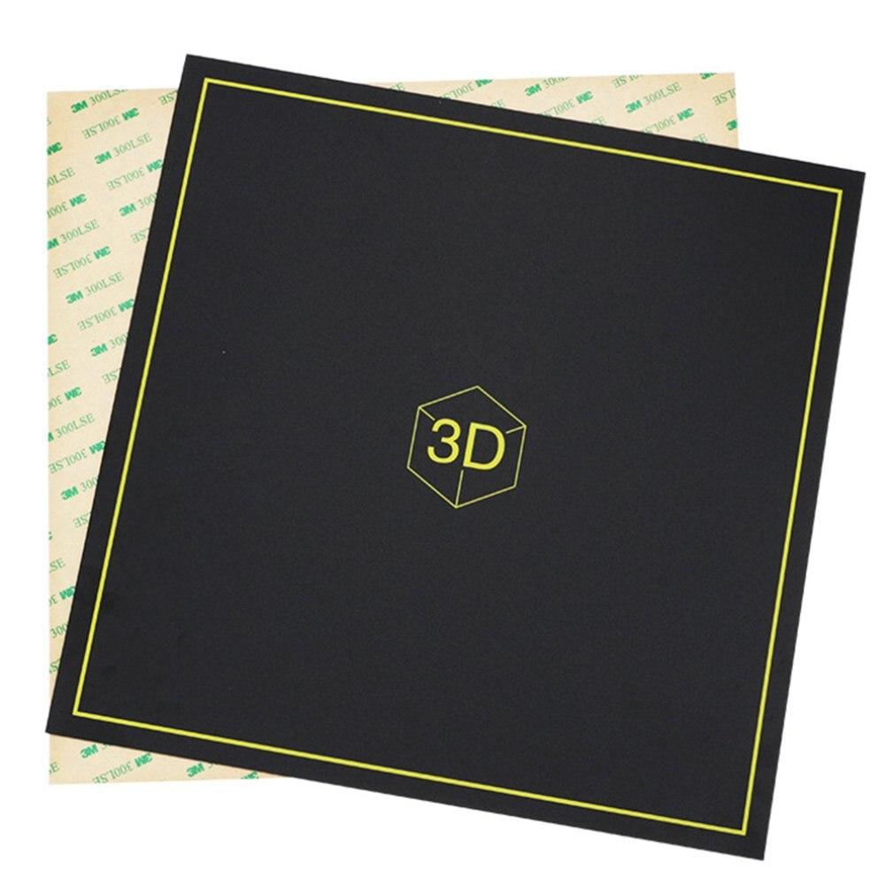 Магнитная Платформа принтер горячие наклейки для кровати 3D принтер Магнитная Наклейка Анти-завивка высокая термостойкость разделяемые