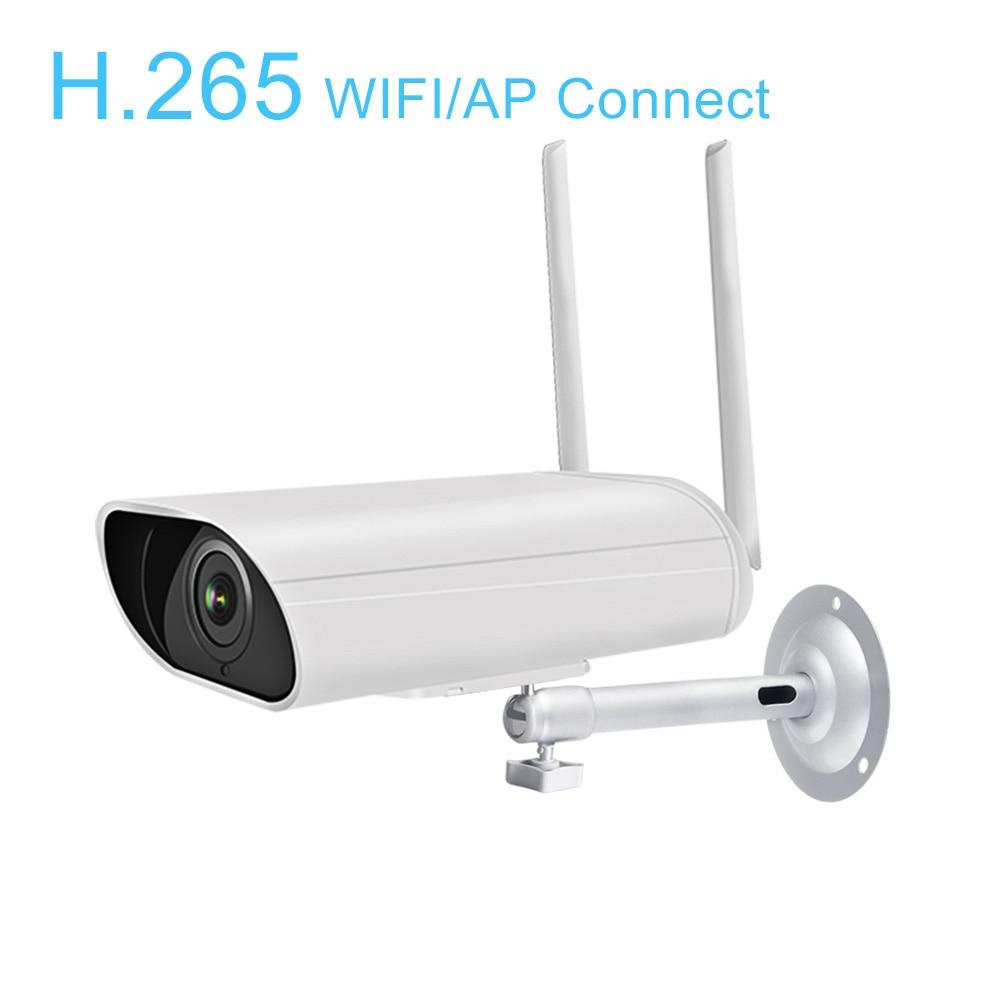 1080P H.265X WIFI IP Camera Wireless Outdoor HD IR Night Vision 2-Way Audio Video CCTV Security Surveillance Bullet Cam