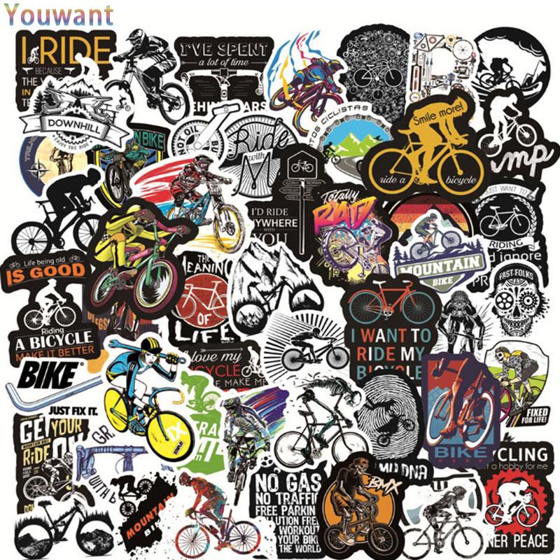 50pcs pack Stickers Hip-hop Skull Cartoon Character Graffiti Sticker For Skateboard Laptop Waterproof Toy Cool Bike Decoration laptop stickers pack camping travel graffiti punk cool cartoon animal waterproof stickers diy bike suitcase skateboard sticker