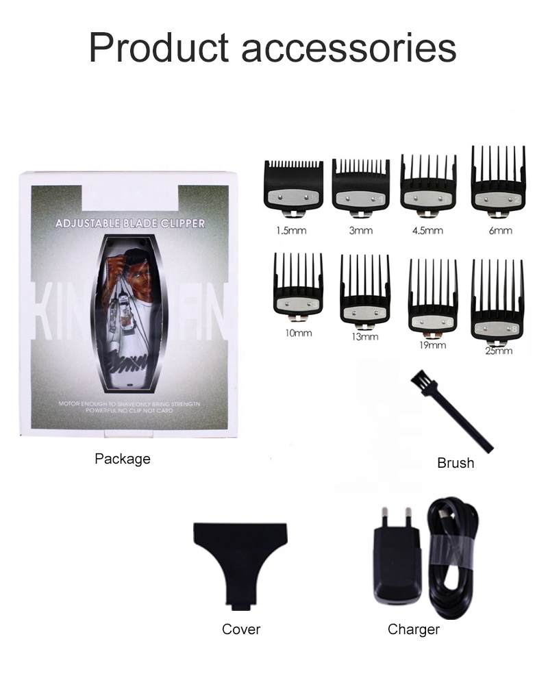 hair clippers hair cutter machine hair Trimmer rozia barbershop Professional Clippers For Men Hair Cutting Machine With Doodle enlarge