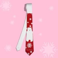 merry christmas printed neck ties set with gift box packed high quality branded ties for men women boys girls christmas gifts