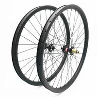 27 5er disc mtb wheels 30x35mm asymmetry tubeless carbon mtb wheelset d791sbd792sb 100x15 148x12 bicycle wheels 1423 spokes
