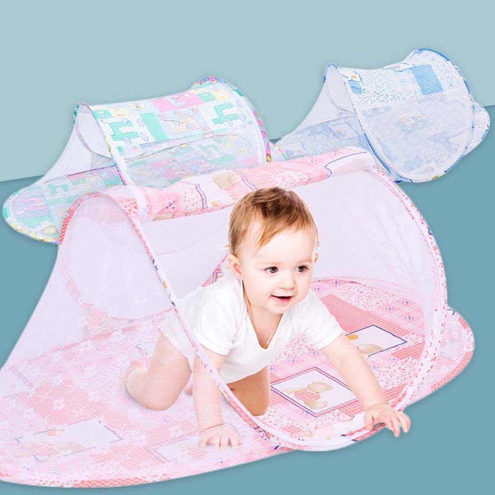 baby crib netting baby bed mosquito nets mattress pillow portable mosquito net tent crib sleeping cushion collapsible for kids Child Portable Baby Crib Mosquito Net Baby Crib Net Stroller Mosquito Net Room Girl Baby Bed Tent Bedroom Mosquito Net Cradle