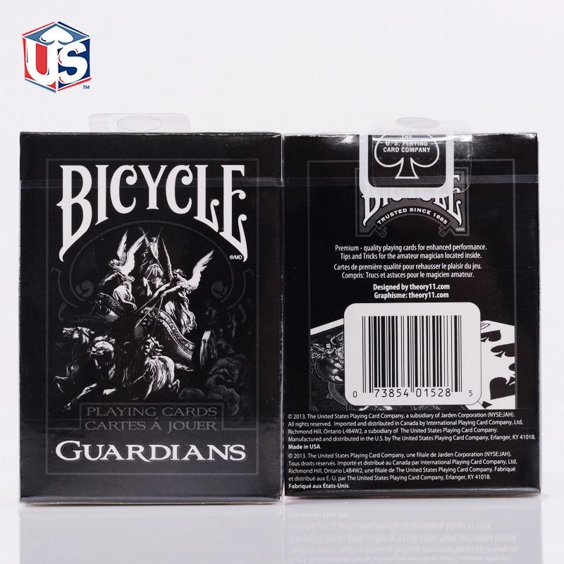 1-колода-theory11-велосипедные-карты-стражи-велосипедные-игральные-карты-обычный-велосипедный-колод-Райдер-задняя-карта-волшебный-трюк-Волшеб