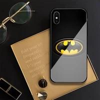bat phone case for iphone 12 mini 11 pro xs max x xr 6 7 8 plus se2020 tempered glass cove fundas