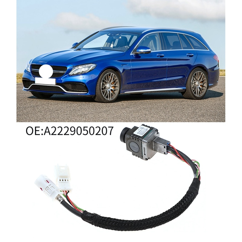 NEW-Car Rear View Backup Camera Parking Camera for Mercedes Benz A2229050207 C-Class S-Class W205 W222
