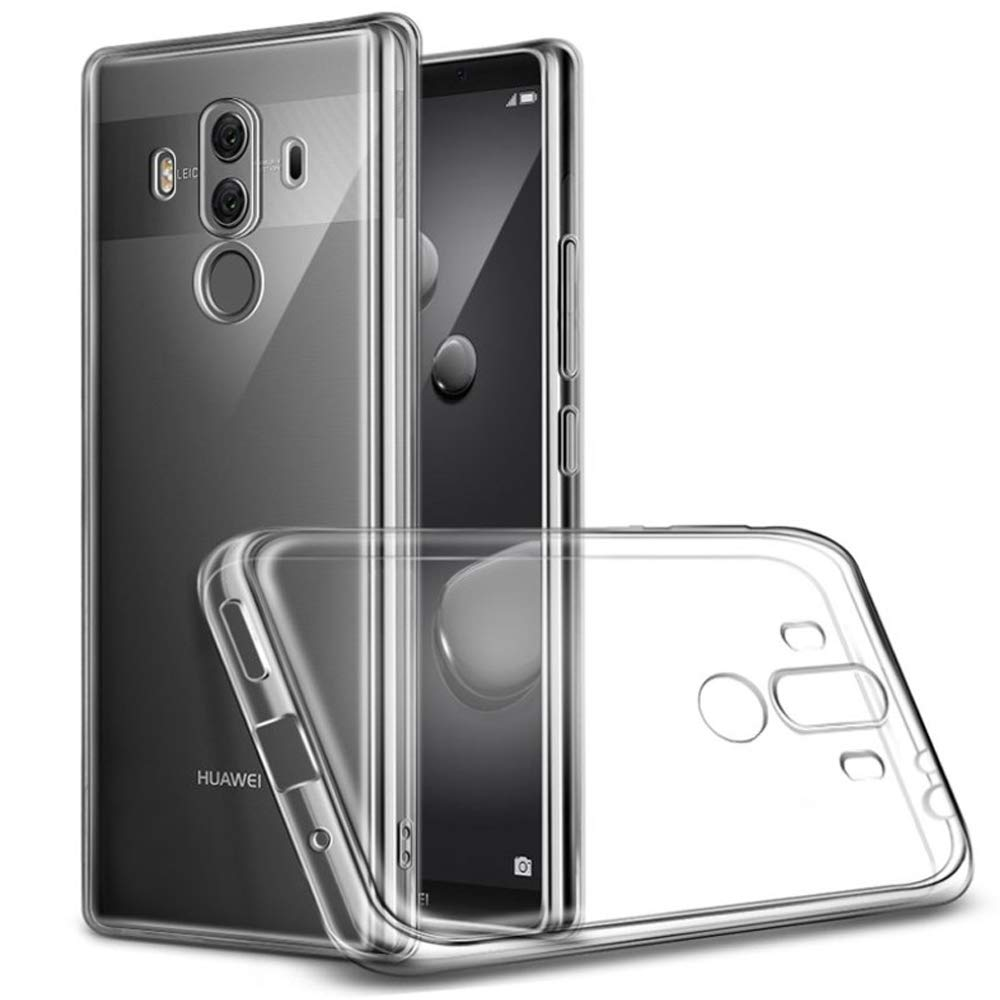 Silicon Case Phone Back Cover for Huawei Mate 9 10 20 Pro Soft TPU Clear Transparent 360 Shockproof Armor for Mate 20 Pro Capa