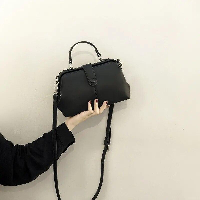 NEW Vintage Fashion Tote Bags Women Shoulder Crossbody Bag PU Leather Women's Handbags Purses free shipping