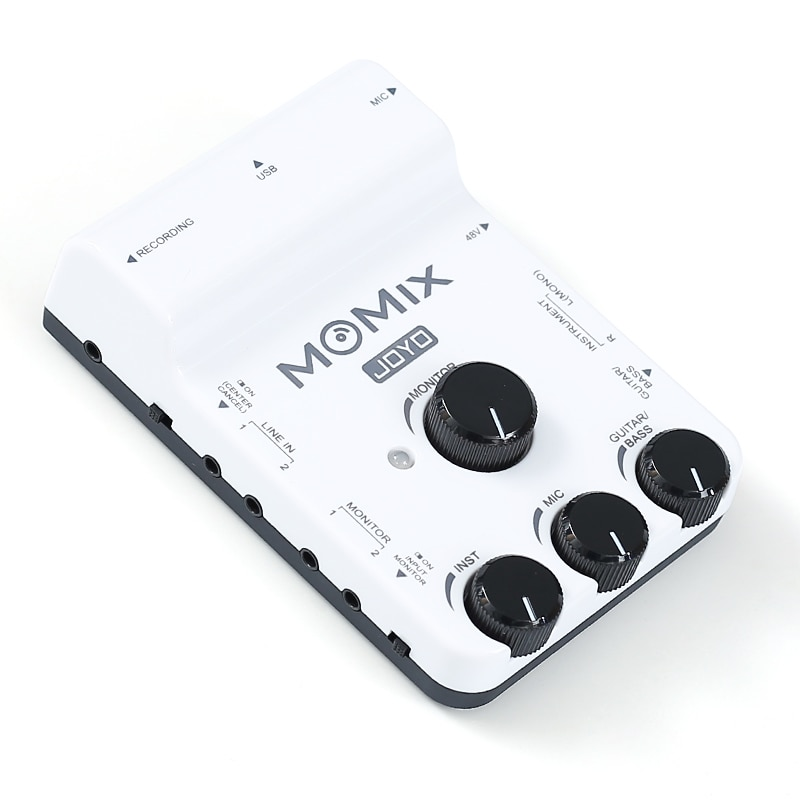 JOYO MOMIX OTG Audio Interface for portable recording live streaming Plug supporting mic/guitar/bass/keyboard/Electronic drum enlarge