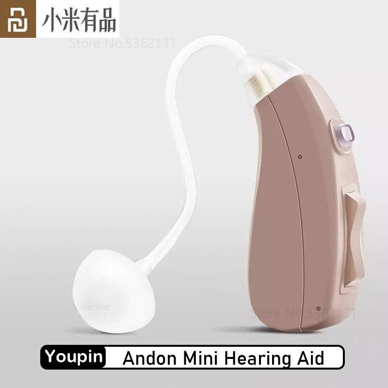 Amplificadores de oído inalámbrico de grado médico Youpin Andon, soporte auditivo, recargables, para personas mayores, pérdida moderada a grave