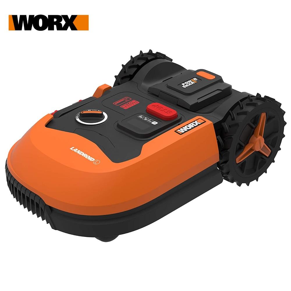 WORX Landroid L WR147E 20V Робот Газон Косилка Беспроводной Газон Косилка для Больших садов до до 1000 м% C2% B2 Привод Telf Уборка Газон стрижка WIFI