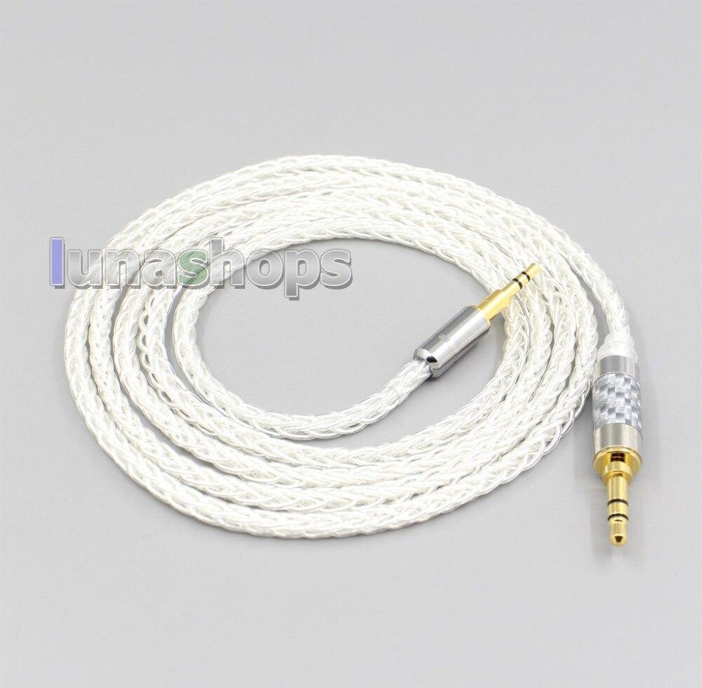 LN006531 8 Core chapados en plata OCC Cable de auriculares para beyerdynamic...