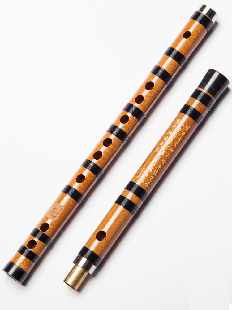 Dong Xuehua Bamboo Flute Professional 8882 Examination Grade Bitter Bamboo Dizi Refined Ancient Style Playing Flatua enlarge