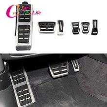 Pedał hamulca do paliwa samochodowego pasuje do Audi A4 B8 S4 RS4 Q3 A5 S5 RS5 8T Q5 8R SQ5 A6 C7 A7 S7 S6 4G A8 S8 A8L 4H akcesoria
