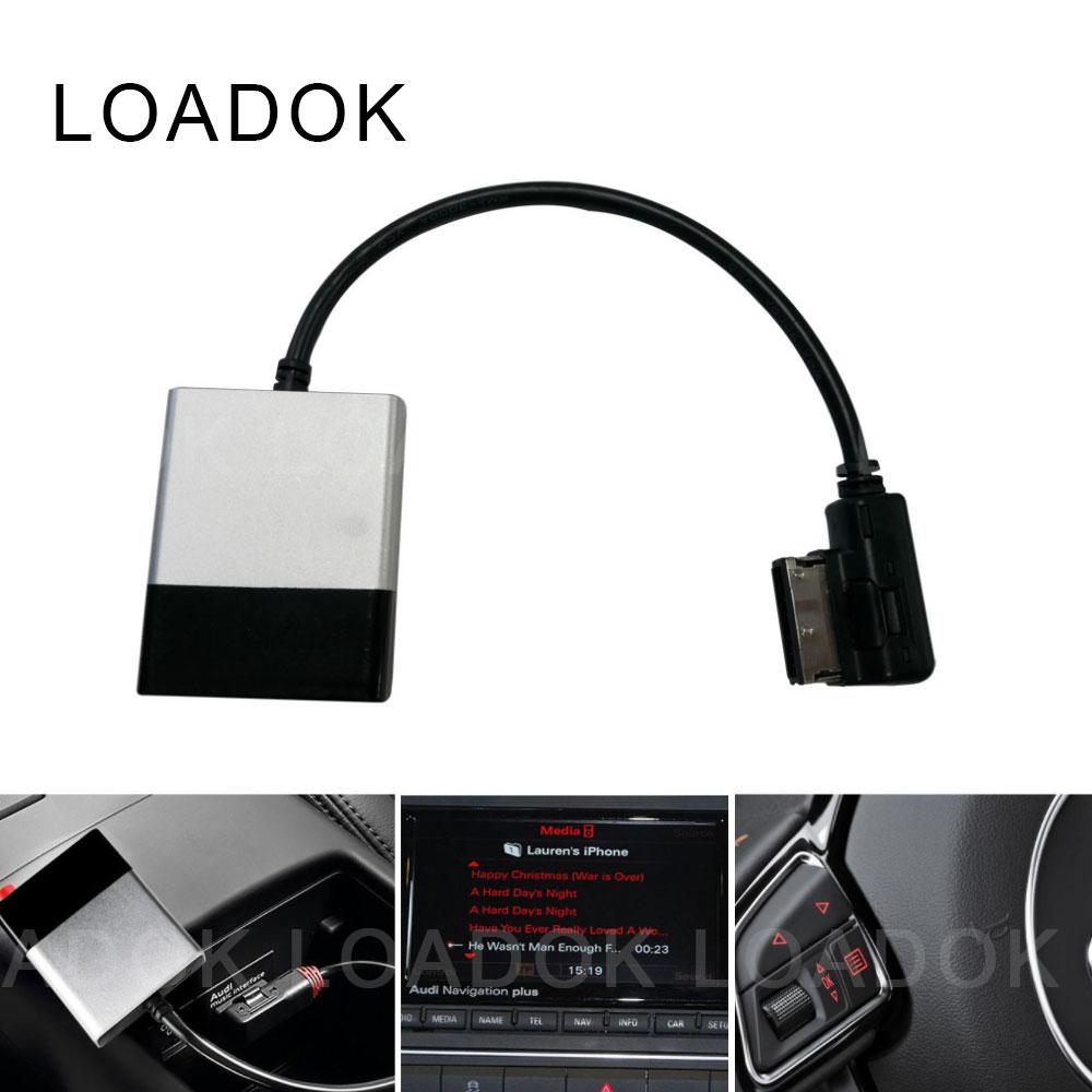 سيارة بلوتوث 5.0 Hifi جهاز استقبال للموسيقى وحدة لمرسيدس بنز لأودي ل VW MDI AMI MMI الوسائط واجهة كابل مساعد محول