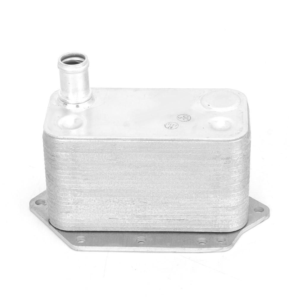 Охлаждение двигателя автомобильный масляный радиатор двигателя алюминиевая система охлаждения подходит для X3 X5 X6 11427788462 автомобильный мас...