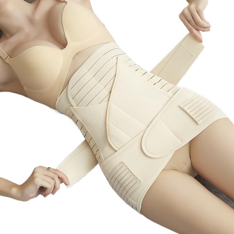 3 Pieces/Set Maternity Postnatal Bandage After Pregnancy Belt Underwear Intimates Postpartum Belly Band for Pregnant Women