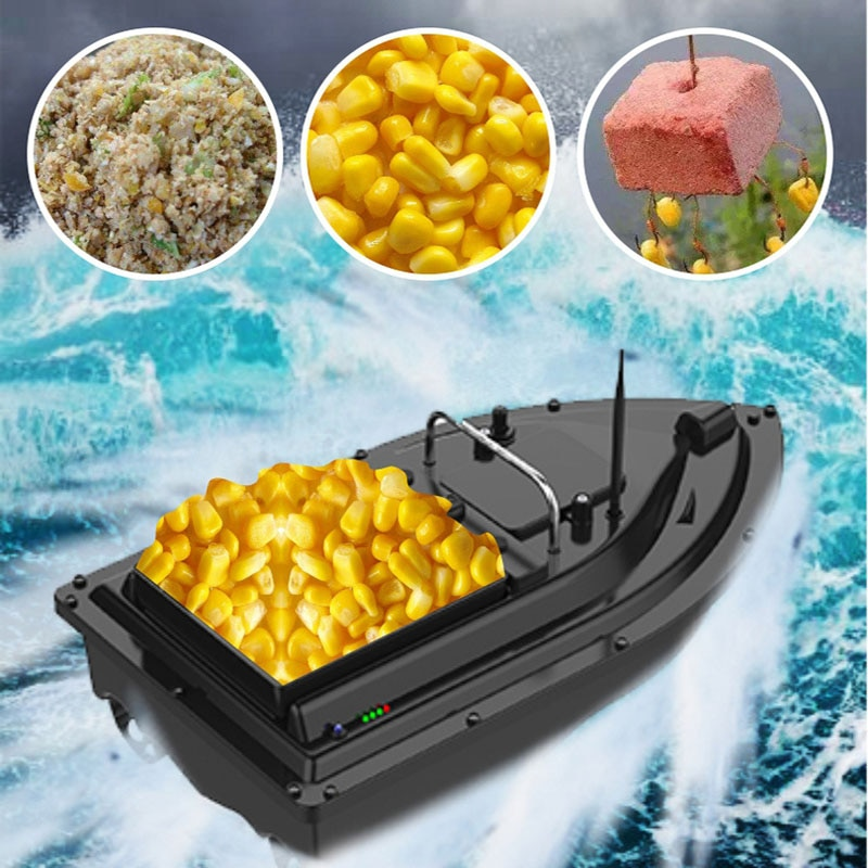 500M Fishing RC Boat Bait GPS Ship Boating Remote Control Boat Fixed Speed Cruise 2.0KG Bateau Amorceur Fish Finder Toys enlarge